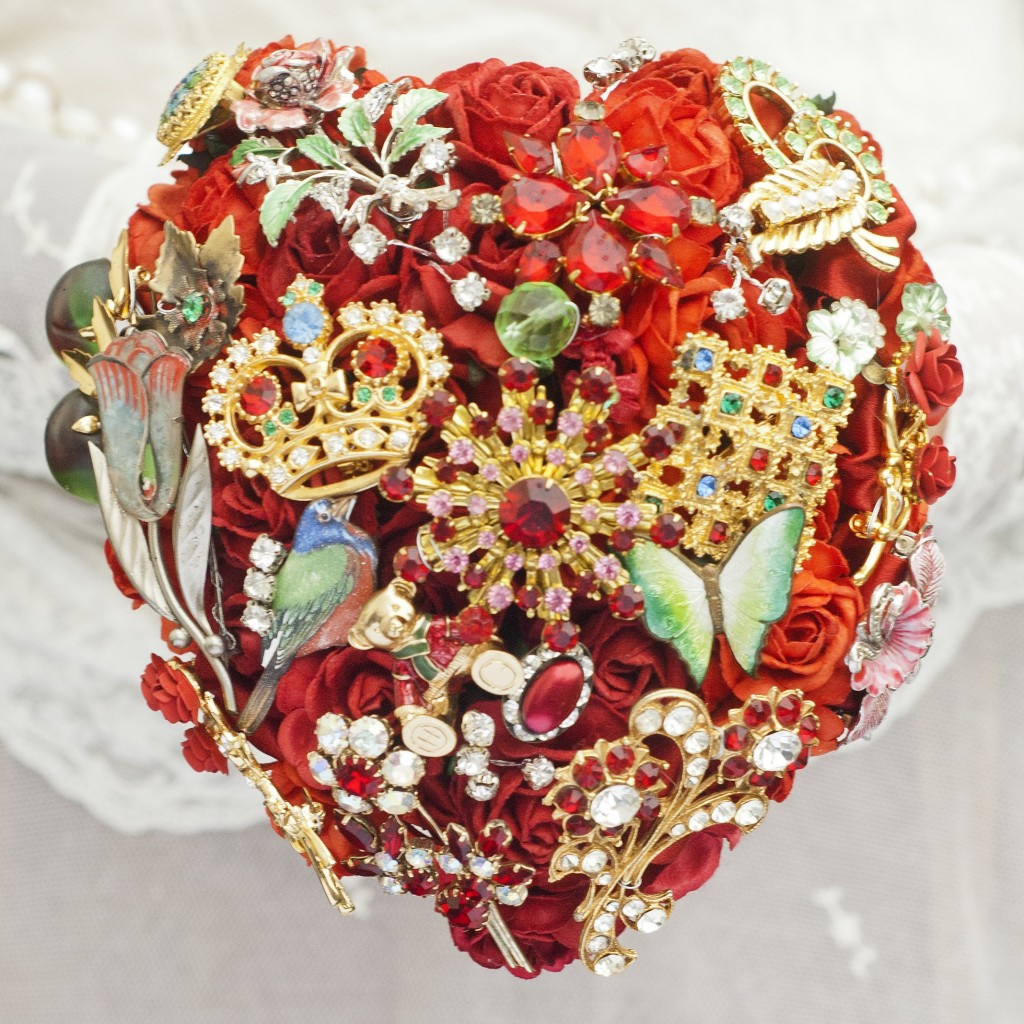 Get-Knotted.net Red Heart Bouquet -ú85 - -ú350