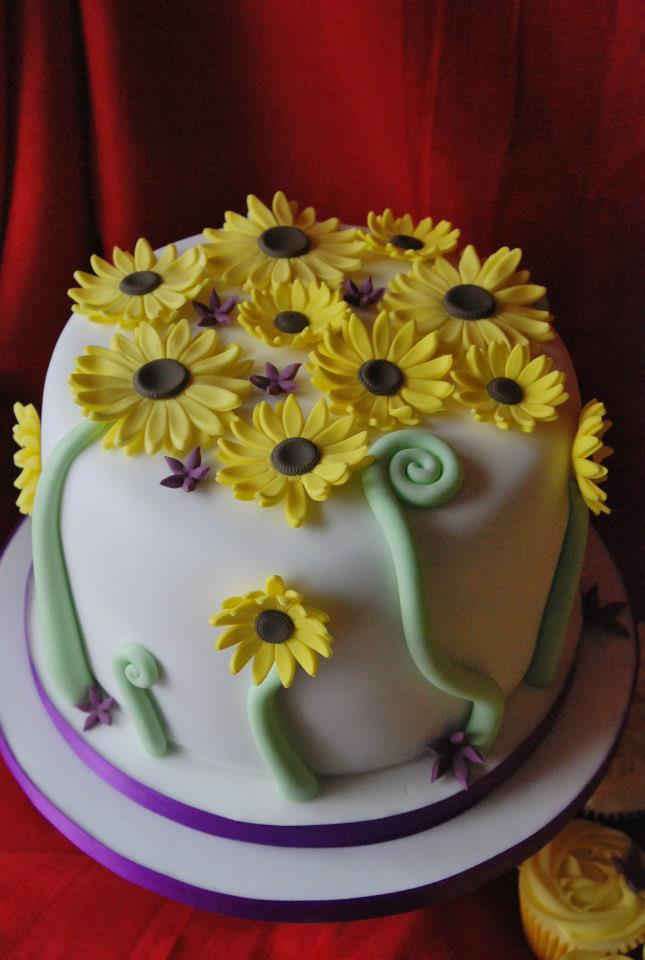 Wedding- Sunflower Cake