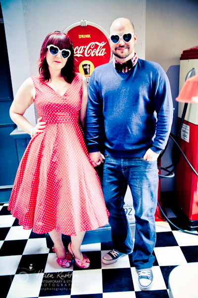 60s inspired Engagement Photo Shoot _ Helen Rushton Photography-1171
