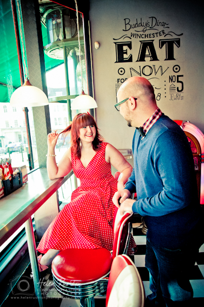 60s inspired Engagement Photo Shoot _ Helen Rushton Photography-1223