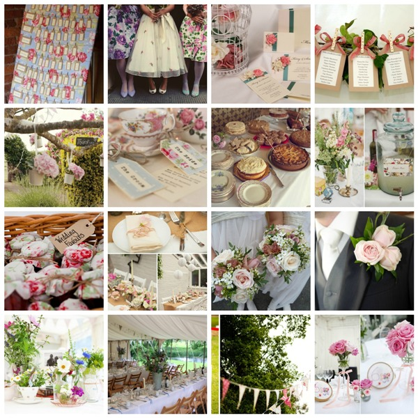 Country garden wedding theme moodboard and decor ideas - Garden wedding ideas decorations ...