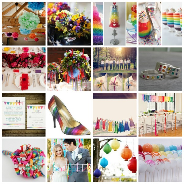 PicMonkey Rainbow Collage