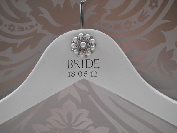 Personalised Bridal Hanger Midway Media