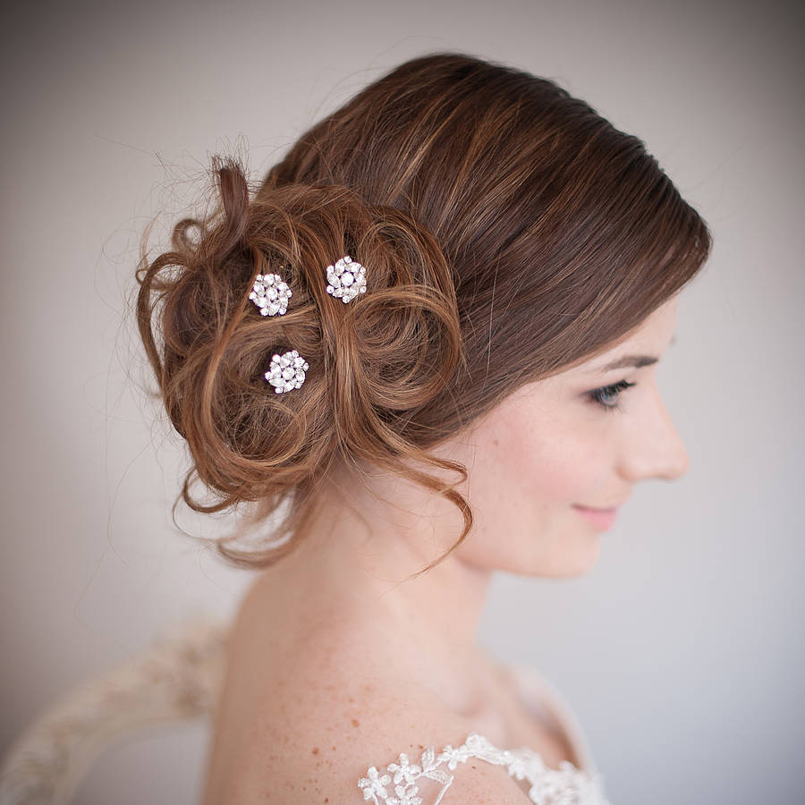 Wedding Hairstyles With Hair Jewelry: EXCLUSIVE Giveaway Preview
