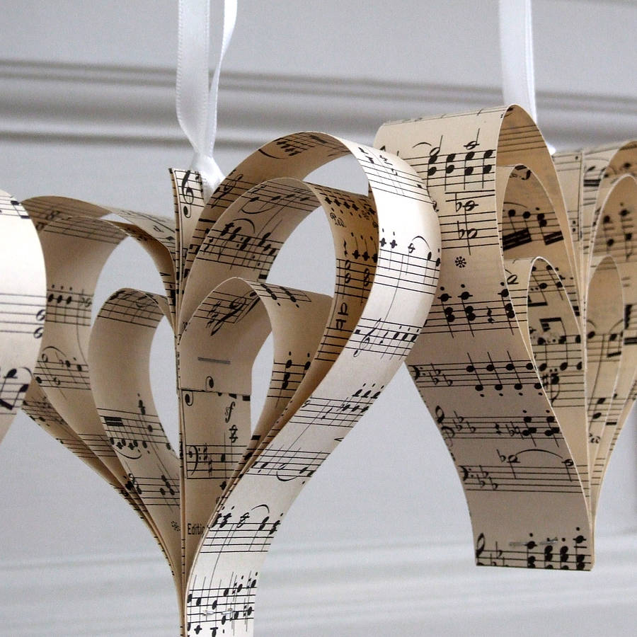 Listen to the music of my heart music inspired wedding for Heart decoration ideas
