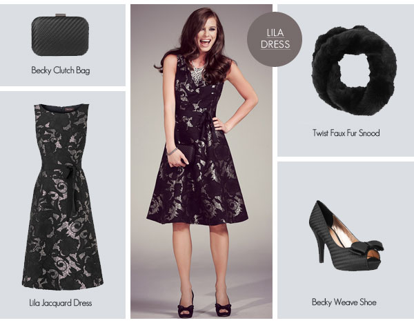 Winter Wedding Style for the fashionable Wedding Guest from Phase Eight