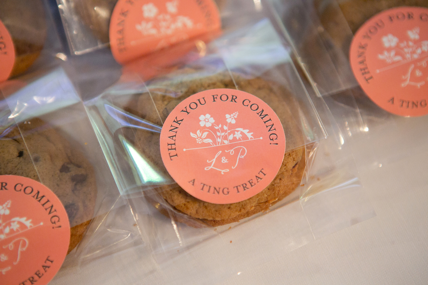 cookie wedding favors homemade