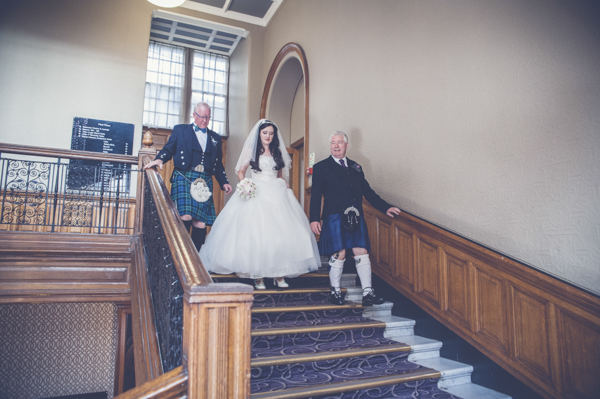A Glasgow, Vintage Inspired, Handmade Wedding At Cottiers
