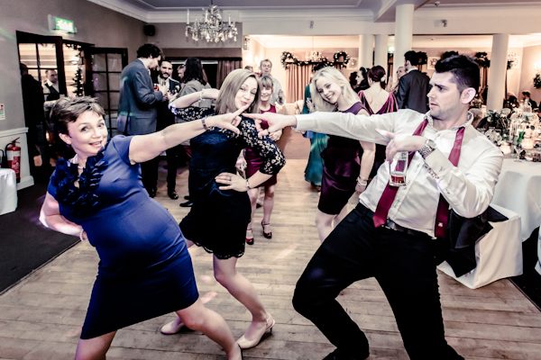 Winter wedding,  Vintage wedding, reception room, donington manor, reception dancing, mark pugh photography
