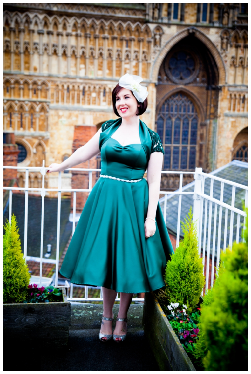 A Vintage Wedding With A Green 50 S Style Vivien Of