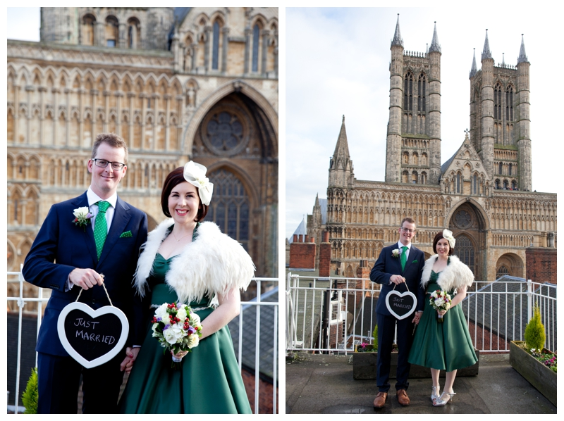 Courtney Louise Photography,  Vintage Wedding, Green Vivien of Holloway Dress, Jimmy Choo Shoes, Homemade touches