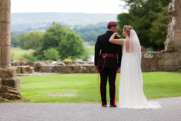Hayley Ruth-Photography, Bolton-Abbey, military wedding
