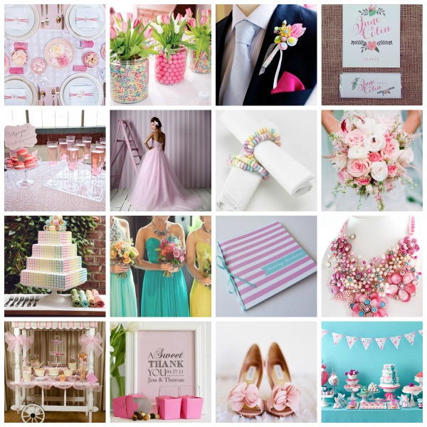 candy  wedding theme,  candy wedding styling,  candy wedding moodboard, candy wedding ideas