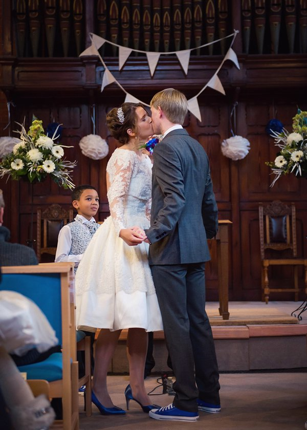 A Gorgeous Church Hall Anglo Dutch Wedding With A 50 S