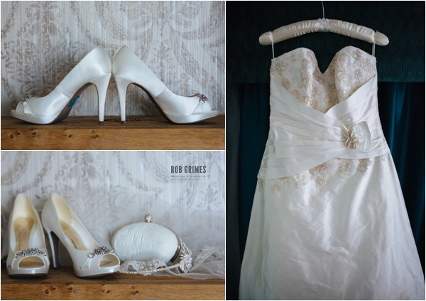 wedding shoes, wedding dress, wedding accessories, rob grimes photography