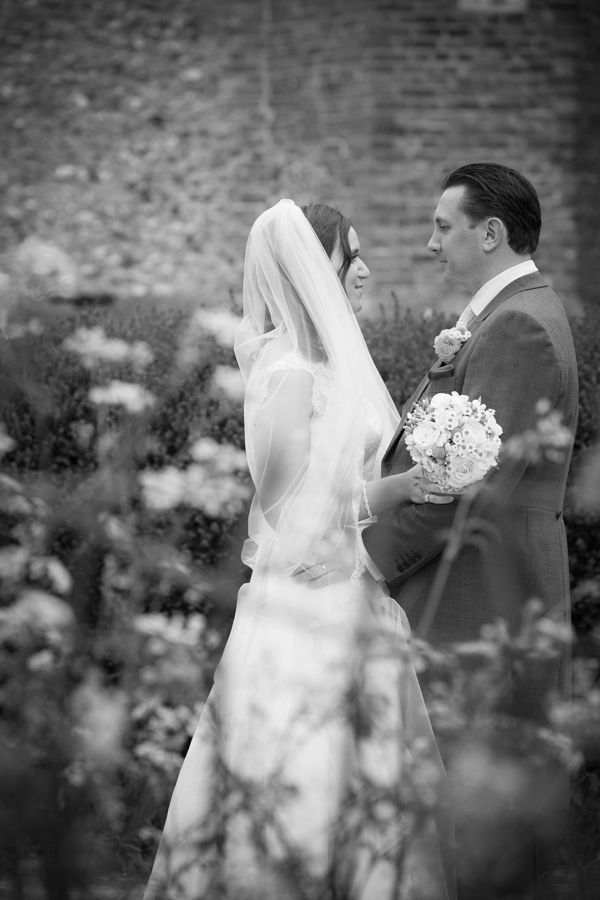 Hayley Ruth Photography, bride and groom portrait, stephanie allin dress