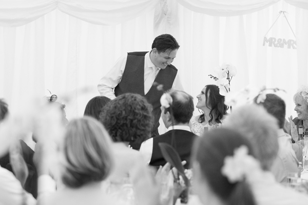 Hayley Ruth Photography , Sturmer Hall , groom speech