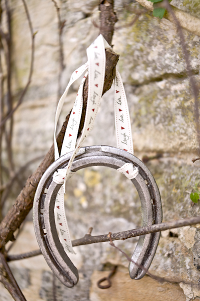 Karen Massey Photography, wedding horseshoe
