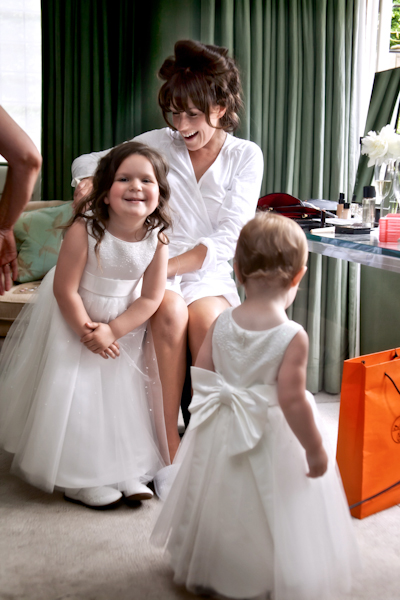 Karen Massey Photography, bride with flowergirls