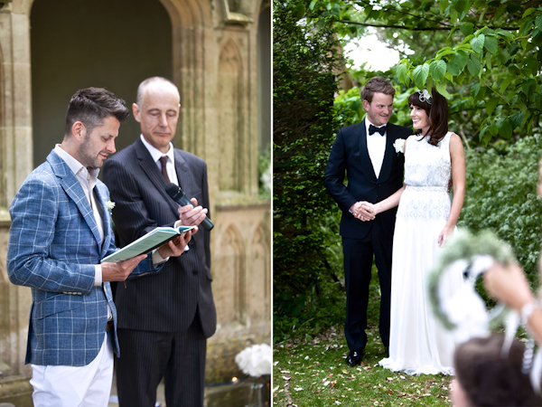 Karen Massey Photography, wedding reading, bride and groom