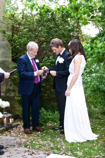 Karen Massey Photography, bride and groom, wedding ceremony, rings