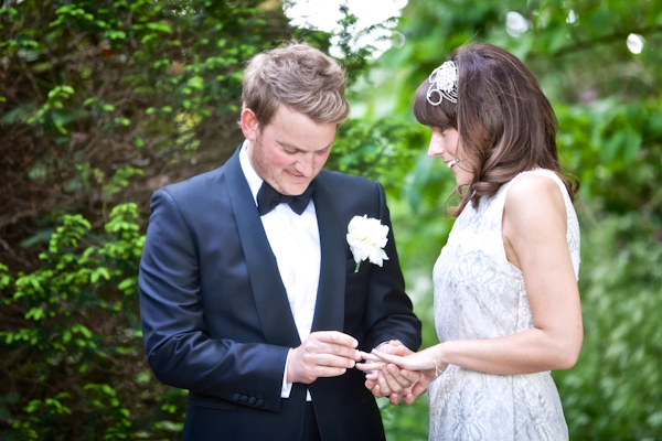 Karen Massey Photography, exchanging rings, wedding ceremony