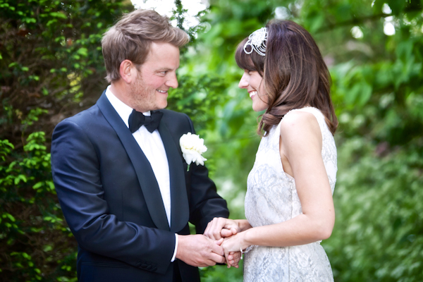 Karen Massey Photography, exchanging rings, wedding ceremony, tom ford suit, jenny packham silverbell dress