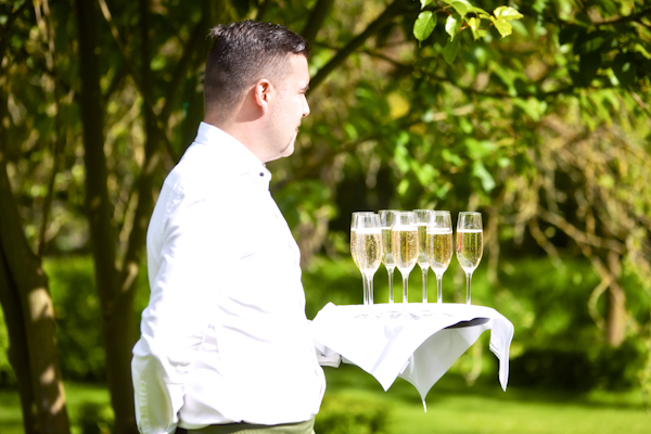 Karen Massey Photography, waiter with drinks