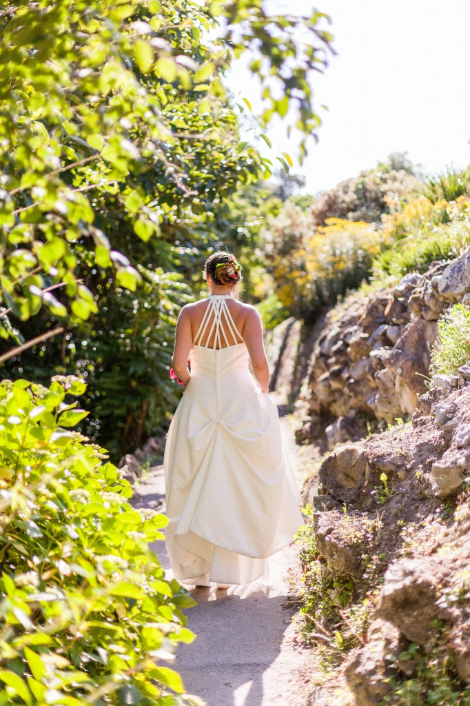 Chris Cowley Photography, bride a, long wedding dress, eco friendly shoot, ethical wedding, recycled wedding