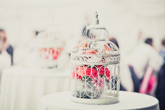 birdcage with coloured flowers, mark pugh photography
