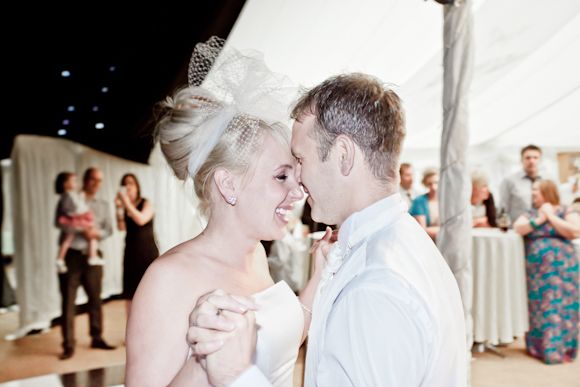 mark pugh photography bride and groom first dance