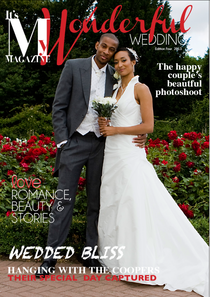 Its my Magazine, Its my wedding, personalised magazine, personalised wedding magazine