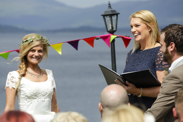 loch lomond, outdoor ceremony, melanie leckie humanist, silver photography