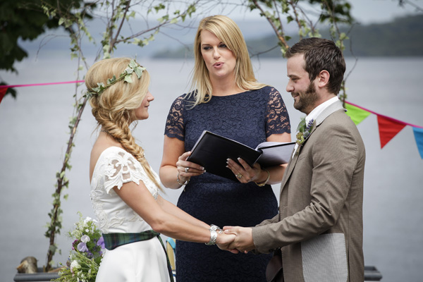 melanie leckie humanist, loch lomond , the cruin, outdoor wedding, silver photography