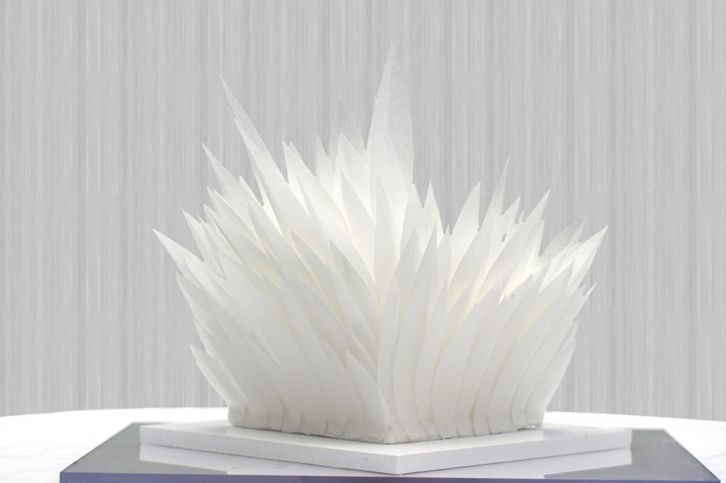 chaice blvd, the box bakery, structured white wedding cake