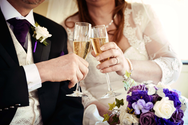 bride and groom, champagne, adam watts photography