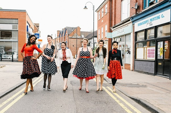 50s fabulous hen - Daffodil Waves Photography, vintage hen house, vintage inspired hen parties