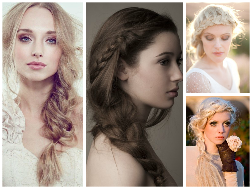 Hairstyle Wedding 2014: Trending Bridal Hairstyles And Make Up Themes In 2014