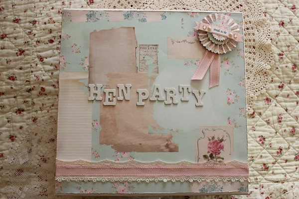 Hen Party Keepsake Box, vinatge hen house, vintage inspired hen parties