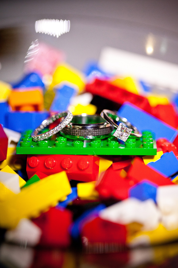 lego wedding, lego themed wedding, gemma clarke photography, sydney wedding photographer, lego wedding ring shot
