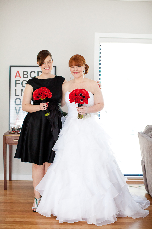 lego wedding, lego themed wedding, gemma clarke photography, sydney wedding photographer, red floral bouquet, wahroonga flower shoppe sydney, Dress – Spurling Bridal/Jean Fox Parramatta , bridesmaid  dress - charlie brown at Myer