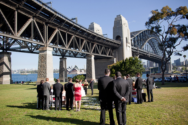 lego wedding, lego themed wedding, gemma clarke photography, sydney opera house, sydney harbour bridge,  sydney wedding photographer, wedding ceremony - bradfield park - sydney