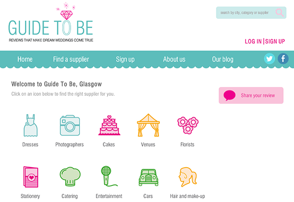guide to be, wedding user review site, wedding supplier review site, wedding tripadvisor