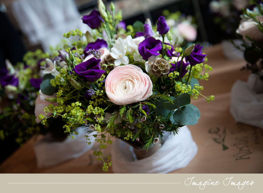 purple wedding flowers, imagine images