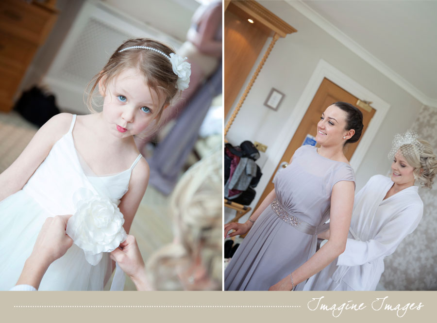 flowergirl, bridesmaid, lochgreen house, imagine images