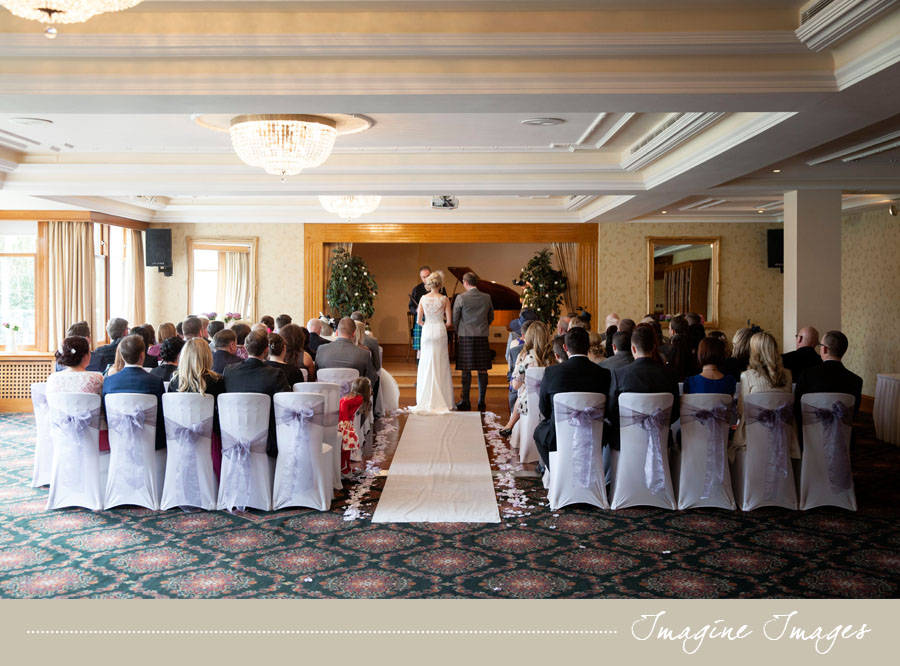 wedding ceremony, lochgreen house, imagine images