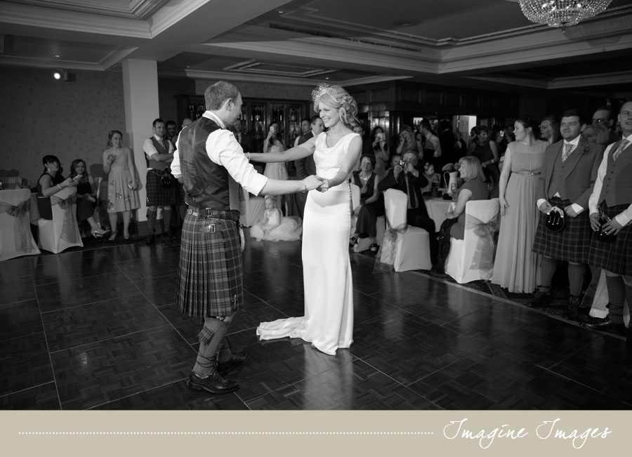 first dance, imagine images, lochgreen house