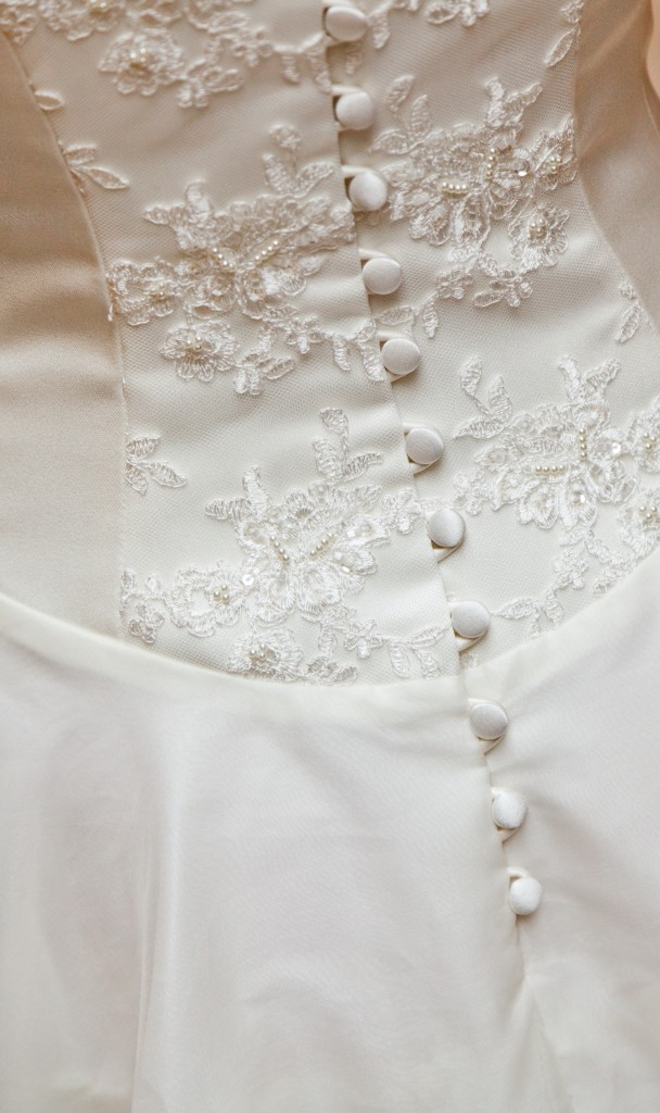 Juliet  - Love & Romance Collection - Qiana Bridal (back detail)