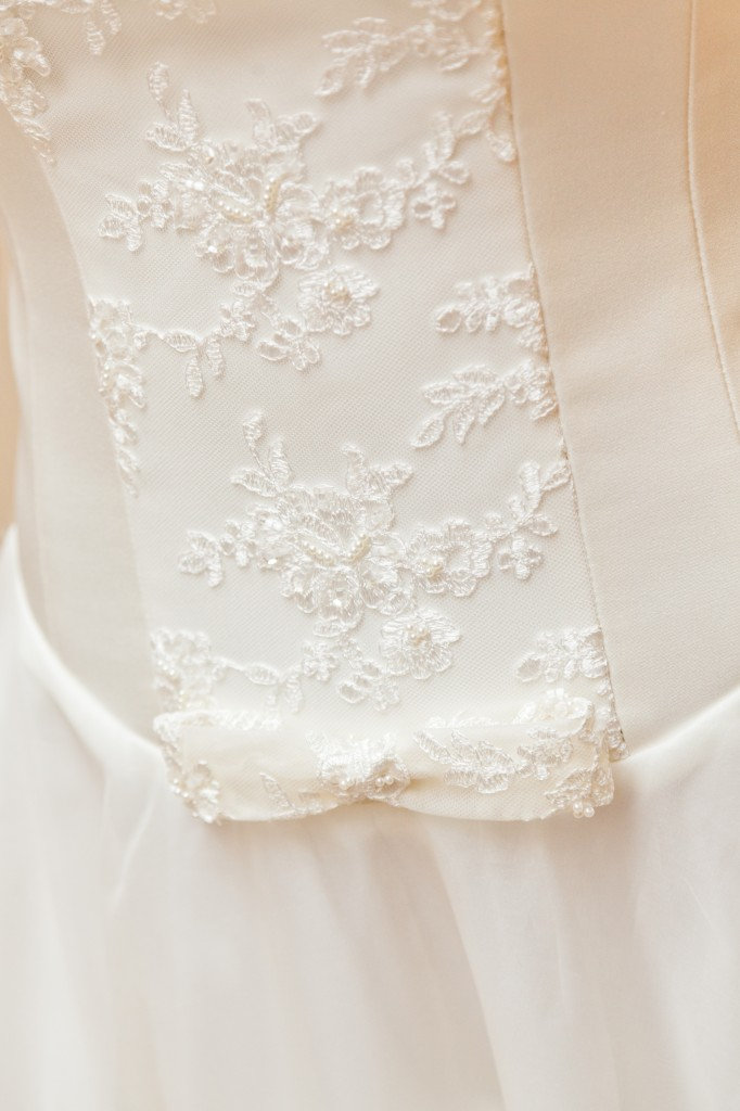 Juliet  - Love & Romance Collection - Qiana Bridal (front detail)