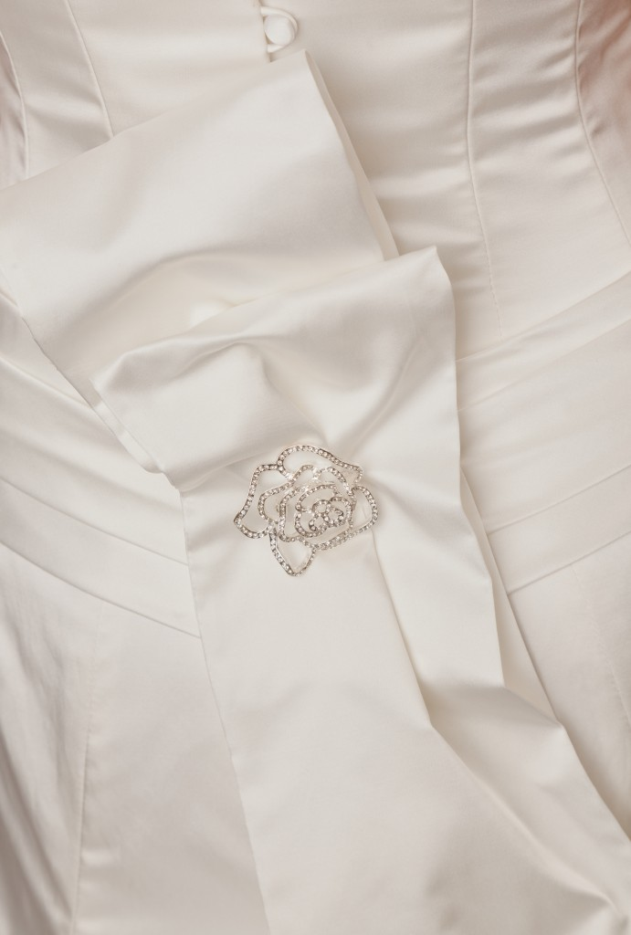Nerissa  - Love & Romance Collection - Qiana Bridal (detail.)
